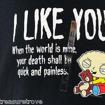 Nwt Stewie Griffin Family Guy Preshrunk T-Shirt Funny Tv I Like You Xl - T3 Photo