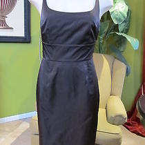 Nwt Susana Monaco Brownie Taffeta  Dress 4 Photo