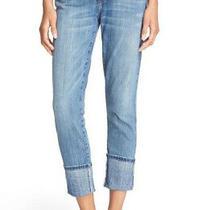 Nwt Sz 29 Current/elliott 'The Cuffed Skinny' Skinny Jeans in Amour Blue Wash Photo