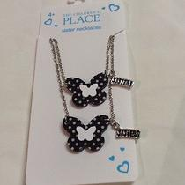 Nwt the Childrens Place Sisters Necklaces. Photo