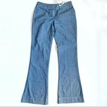 Nwt the Limited Women's Tall Fit Flair 312 Jeans-- Size 6r Blue Gray- Msrp 80 Photo