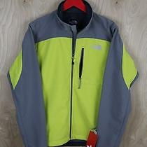 Nwt the North Face Apex Bionic Jacket Men's S Softshell Warm Olive Pache Grey Photo