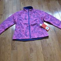 Nwt the North Face Apex Bionic Softshell Jacket M Azalea Pink Night Dew Print Photo
