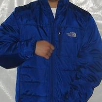 Nwt the North Face Brecon Mens Jacket Size Medium Color Bolt Blue Msrp 150  Photo