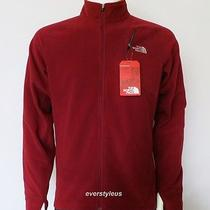 Nwt the North Face Gustinado Men's Full Zip Fleece Jacket Biking Red 120 Photo