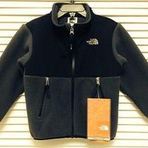 Nwt the North Face Hooded Denali Graphite Grey Toddler Boy's Fleece Jacket Sz 3t Photo