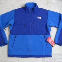 Nwt the North Face Mens Denali Fleece Jacket Size Large Jake Blue/bolt Blue Amyn Photo