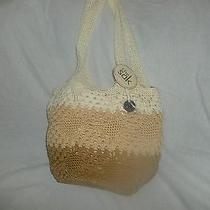 Nwt the Sak  Bag  Hand -Crocheted  Photo
