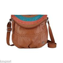 Nwt the Sak Deena Flap Crossbody in Tobacco Painted 1000045420 Photo
