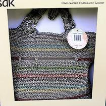 Nwt the Sak Hand Crafted Tightweave Crochet Belle Tote  Photo