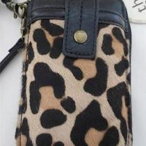 Nwt the Sak Iris Leopard Iphone Smartphone  Wristlet Crossbody Bag Purse Photo