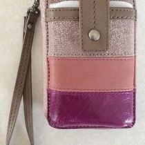 Nwt the Sak Iris Pink Smartphone Iphone Wristlet Photo
