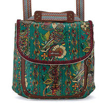 Nwt the Sak Sakroots Convertible Backpack / Crossbody Bag in Teal Spirit Desert  Photo