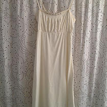 Nwt Theory Dress Size M - Ivory Cotton Photo