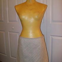 Nwt Theory Eddria Cross Hatch Mini Skirt Sz. 10 Photo