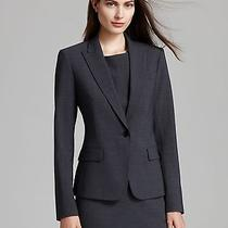 Nwt Theory Gabe B2 Urban Blazer in Charcoal 395 - 4 Photo