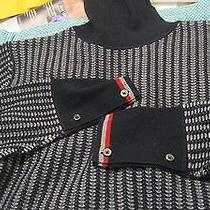 Nwt Thom Browne Brooks Brothers Black Fleece Wool Sweater Bb3 L Photo