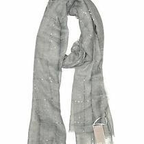 Nwt Tilo Women Gray Scarf One Size Photo