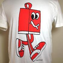 Nwt Todd James Puma X Shopping Bag Animation Hip Hop T-Shirt Mens Sz L New 40 Photo