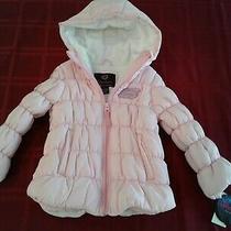 Nwt Toddler Girl Skechers Hooded Winter Coat Sz 4 Photo
