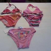 Nwt Toddler Girls 3t  Old Navy & Gap  Miscellaneous Swimsuit Pieces Qty 5  Photo