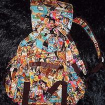 Nwt - Tokidoki X Lesportsac Inspired Pirata Drawstring Backpack Photo
