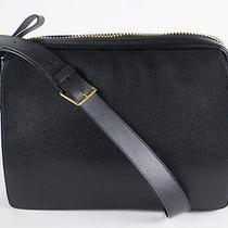 Nwt Tom Ford Medium Black Leather Messenger Shoulder Bag With Adjustable Strap Photo