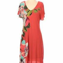 Nwt Tommy Bahama Women Orange Casual Dress S Photo