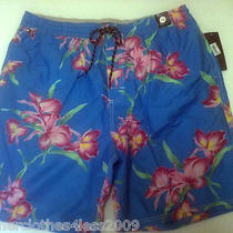 Nwt Tommy Hilfiger Floral Swim Trunk Board Short Xl 60 Photo