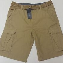 Nwt Tommy Hilfiger Mens Cargo Shorts & Belt Size 31 Waist Brand New Retail 52 Photo