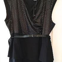 Nwt Torrid Black Tiered Dress Women's Plus 26w Formal Knee-Length Short Sleeve Photo