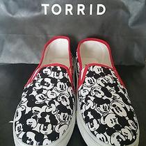Nwt Torrid Disney Mickey Mouse Lightweight Slip on Shoes Size 13  Photo