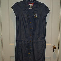 Nwt Tory Burch Chambray Dress Size 12 Photo