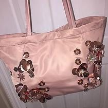 Nwt Tory Burch Flower Cluster Nylon Tote in Blush 350 Sold Out Photo