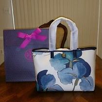 Nwt Tory Burch Kerrington Shopper Persica Print With Tory Gift Box Photo
