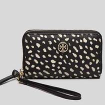Nwt Tory Burch Kerrington Spotted Pony Printed Iphone Case Wallet Clutch 135 Photo