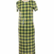 Nwt Trafaluc by Zara Women Green Casual Dress S Photo