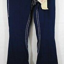Nwt True Religion Blue Joey Big T Stretch Flare Jeans Sz. 25 (Read Description) Photo