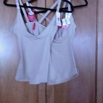 Nwt Two 68 Spanx 1814 Sz L Nude Slimplicity Open-Bust Boost Camisole Tank Photo