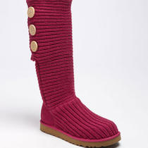 Nwt Ugg  Australia Women Ruby  'Cardy' Classic Knit Boot ( 8m)  Photo