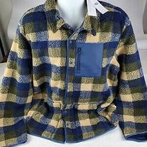 Nwt Ugg Mens Keefe Sherpa Jacket Fleece Flannel Warm Heavy Duty Coat Size Xxl  Photo