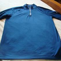 Nwt Under Armour Men's Blue Tech 1/4 Zip Sweatshirt Pullover 45  Size M Photo