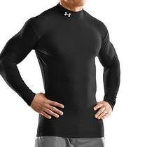 Nwt Under Armour Men's Coldgear Compression Mock Shirt  1000512 L Photo