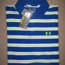 Nwt Under Armour Men's Loose Fit Golf Polo Shirt Sz Xl Photo