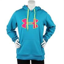 Nwt Under Armour Women's Xs Ua Storm Fleece Water Resistant Blue Hoody Sweater Photo