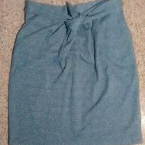 Nwt Urban Outfitters Blue Slit-Pocket Skirt Tie Wst by Peter Jensen L/large 59  Photo
