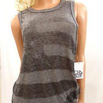 Nwt Urban Outfitters Chaser Deep Armhole Grunge Gray Tank Tee Size Medium Photo