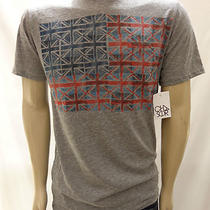 Nwt Urban Outfitters Chaser Fender Flag Gray Tee Shirt Size Medium Photo
