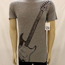 Nwt Urban Outfitters Chaser Fender Guitar Gray Tee Shirt Size Large Photo