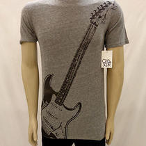 Nwt Urban Outfitters Chaser Fender Guitar Gray Tee Shirt Size Xl Photo